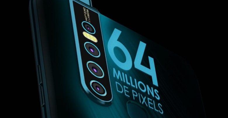 64 millions pixels