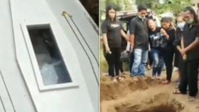 indonésie corps bouge dans cercueil