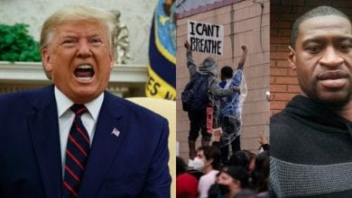 Donald-Trump-threatens-George-Floyd-protesters-with-military-action