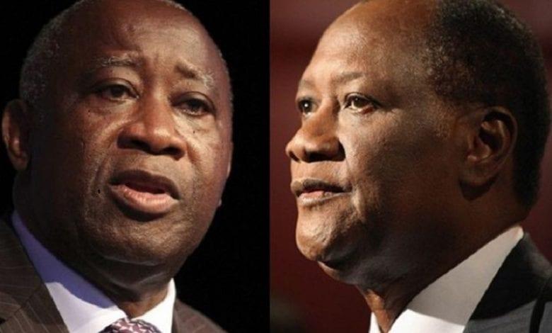 Alassane-Ouattara-et-Laurent-Gbagbo