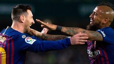 Messi et vidal