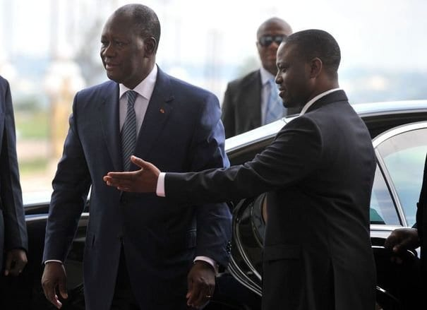 """Côte d'Ivoire/ Ouattara invite Soro à rentrer pour """"faire face à la justice"""""""