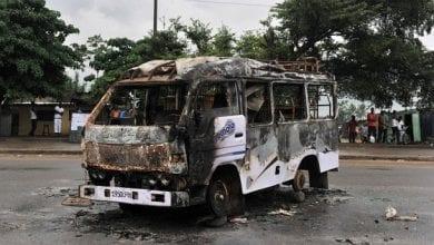 gbaka incendié
