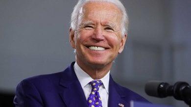 Democratic presidential candidate Joe Biden holds campaign event in Wilmington, Delaware