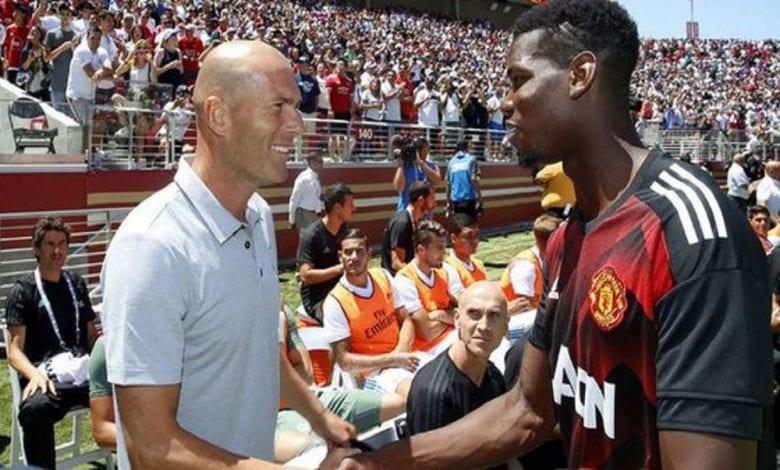 Zinedine-Zidane-Real-Madrid-ne-lâche-pas-l'affaire-pour-Paul-Pogba-Manchester-United