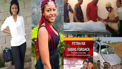 Young-Cameroonian-lady-dies-in-motor-accident-5-days-to
