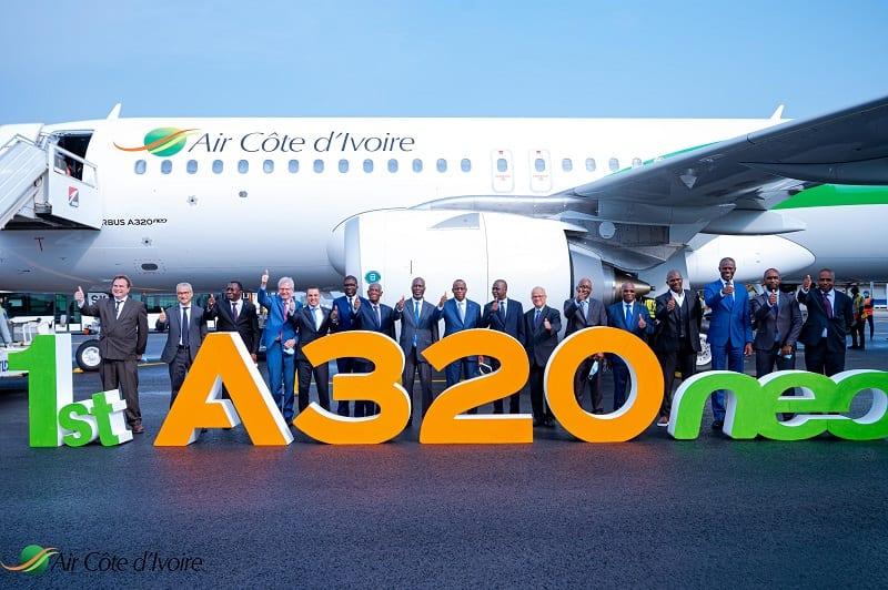 Air Côte d'Ivoire / la compagnie aérienne accueille son nouveau Airbus A320 Neo