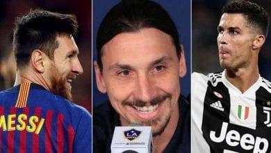 Messi, Zlatan, Ronaldo