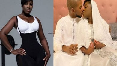 Newly-Married-Princess-Shyngle-Shares-Photo-Of-Herself-Kissing-Her-Husband