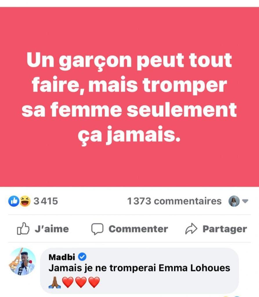 Emma Lohoues: ''son amoureux'' lui fait une agréable surprise à la Saint-Valentin