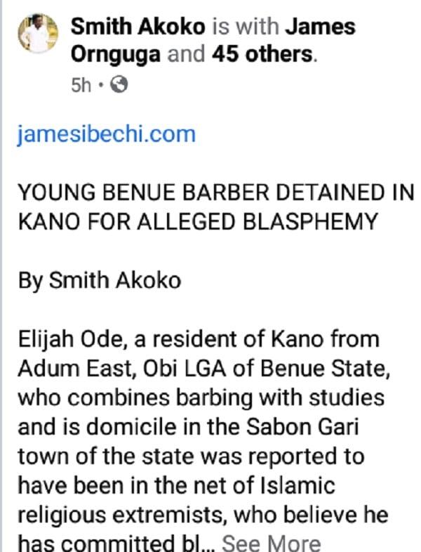 Nigeria: un coiffeur arrêté pour avoir fait des coiffures qui insulteraient l'islam à ses clients