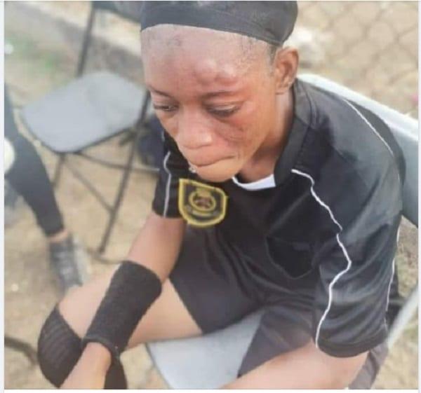Ghana / Football : une arbitre battue sans pitié par une joueuse lors d'un match