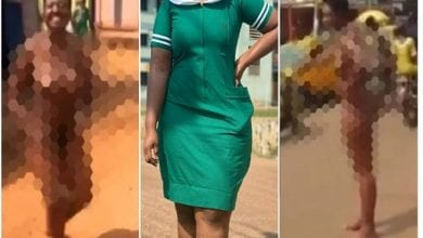 Beautiful-Nurse-runs-mad-after-divorcing-her-old-farmer-husband-for-a-young-teache