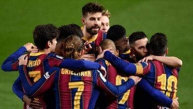 Les joueurs du Barça