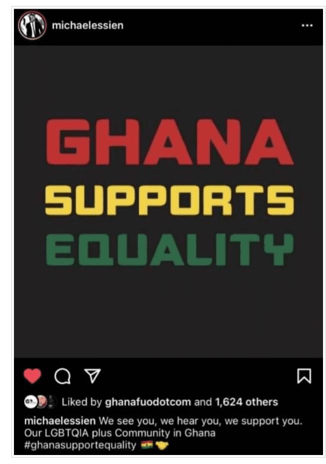 Ghana: Michael Essien apporte son soutien aux homosexuels et se fait détruire sur la toile