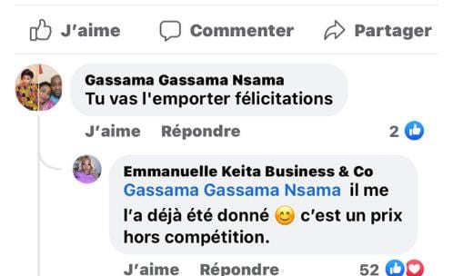 Emmanuelle Keita Keita au cœur d'un nouvel emballement médiatique