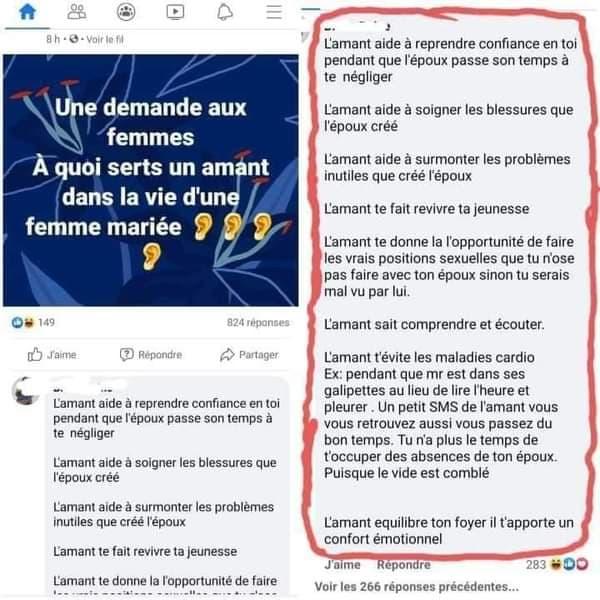 Côte d'Ivoire: il annule son mariage et vire sa conjointe pour un commentaire indécent sur Facebook