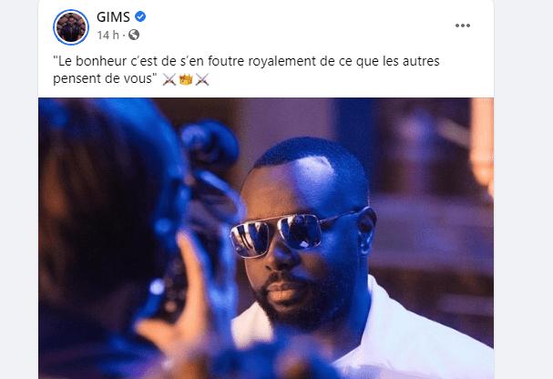 """Absent aux obsèques de """"HAMBAK"""", Gims se fait détruire par les ivoiriens sur son compte Facebook"""