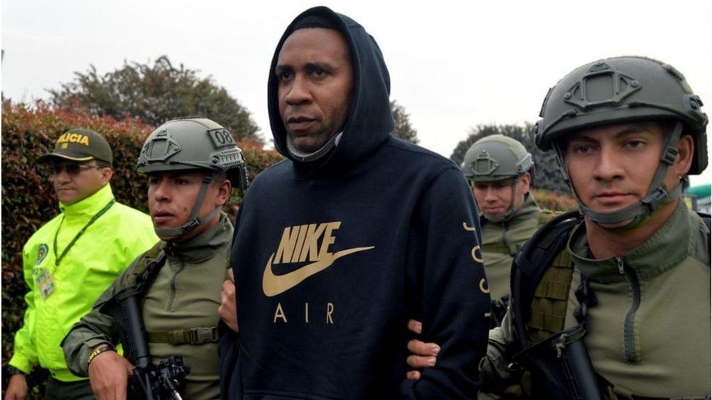L'ancien footballeur colombien Jhon Viafara arrêté pour trafic de cocaïne
