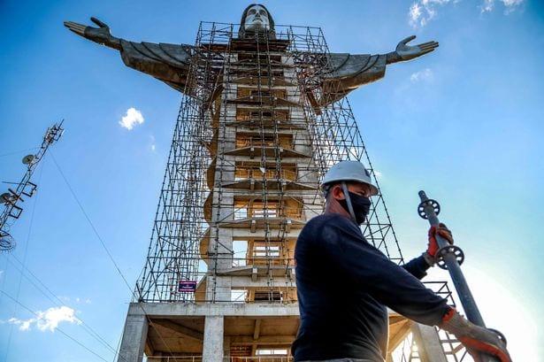 Le Brésil construit une autre statue de Jésus- Christ, plus grande que celle de Rio
