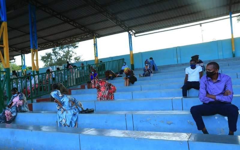 Rwanda: un couple nouvellement marié passe sa première nuit dans un stade