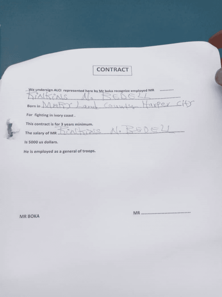 Côte d'Ivoire/Attaque d'un camp militaire: des Libériens parmi les assaillants ? Les bizarreries d'une affaire