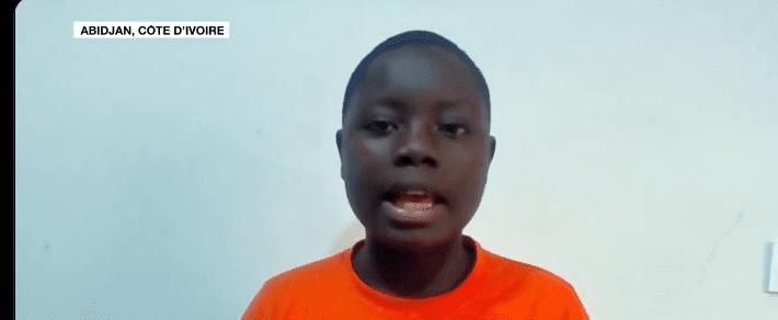 Côte d'Ivoire : à 15 ans, Rose Goyéli Tuo crée une application pour mieux gérer l'implantation de boutiques ambulantes- (vidéo)