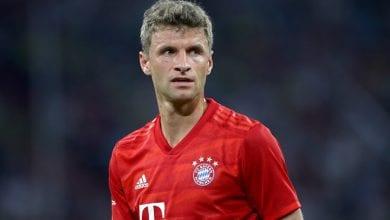 Bayern MunichÕs Thomas Muller ! only BELGIUM !