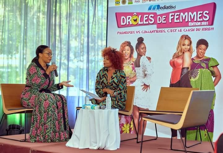 """Côte d'Ivoire/ Lancement de la 2e édition du spectacle d'humour """"Drôles de Femmes"""": l'organisation veut contribuer à la revalorisation de la gent féminine"""