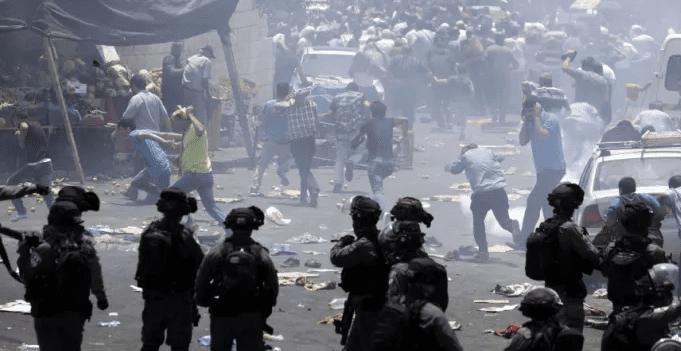 IMAGE AFFRONTEMENTS ISRAEL