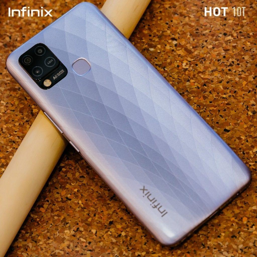 INFINIX lance le tout nouveau HOT 10T