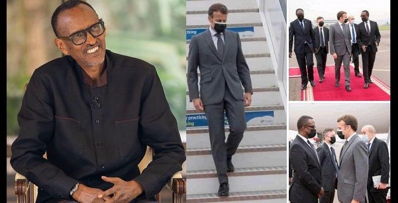 Macron au Rwanda
