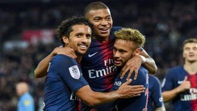 Mbappé, Neymar,