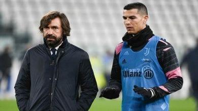 Pirlo et Ronaldo