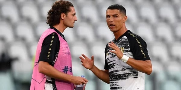 Rabiot et Ronaldo