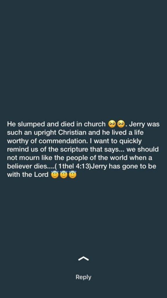 Nigeria: un jeune guitariste s'effondre et meurt à l'église en adorant Dieu