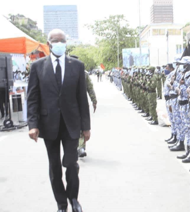 Côte d'Ivoire-Exclusif : le Président du Conseil Constitutionnel est-il aussi malade ? Ses images inquiétantes