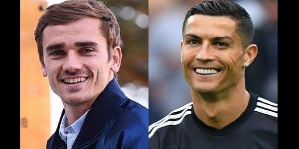 Griezmann et Ronaldo