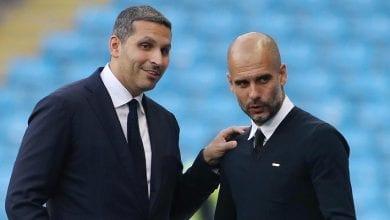 Guardiola et le président