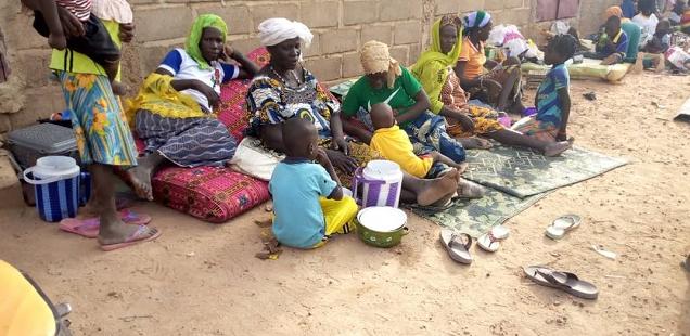 Environ 3300 déplacés liés aux récentes attaques au Burkina Faso