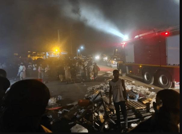 Côte d'Ivoire : le grand marché de Daoukro emporté par les flammes