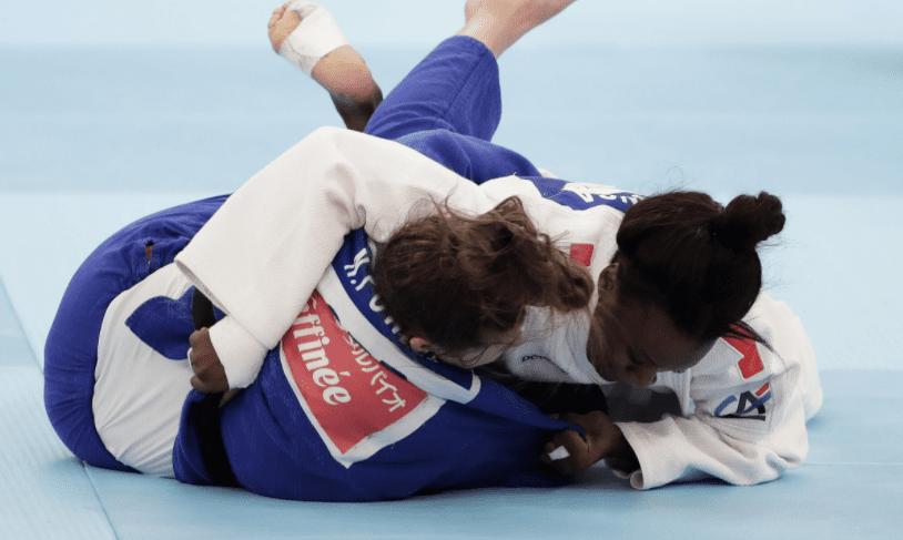 Madeleine Malonga se qualifie pour la finale des Mondiaux de Judo