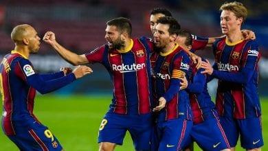 Messi et ses coéquipiers