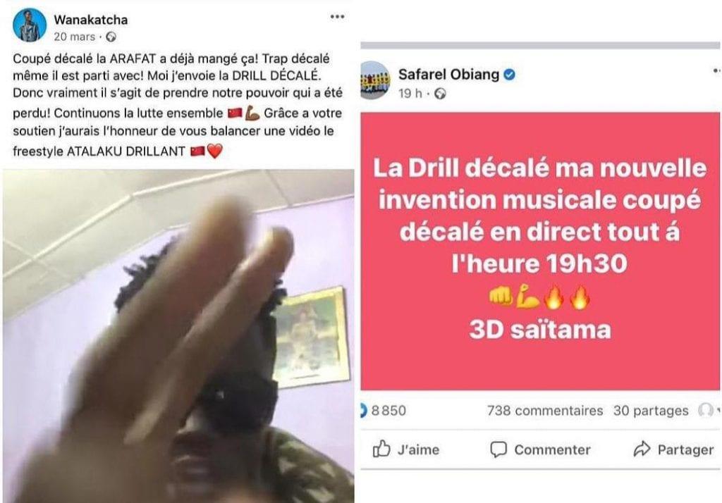 Ariel Sheney accuse Safarel Obiang de Plagiat et sort un dossier compromettant