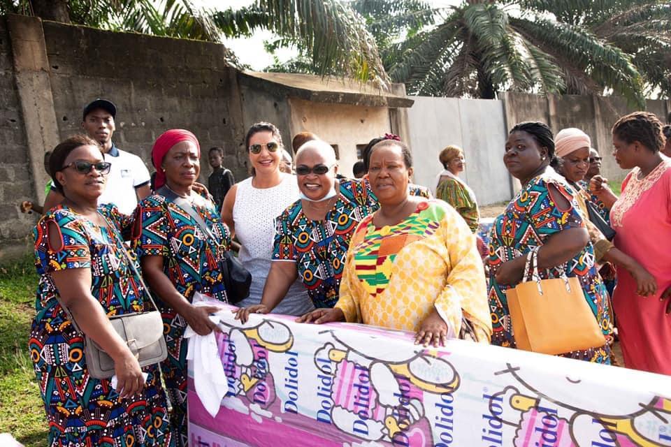 Adrienne Koutouan : la comédienne vient en aide aux femmes du village d'Aboboté