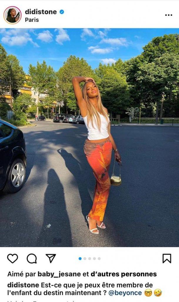 Didi Stone : la fille de Koffi Olomide fait une demande à Beyoncé