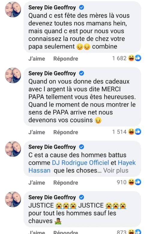 Côte d'Ivoire/ Le joueur Serey Die, mécontent, adresse un message aux femmes