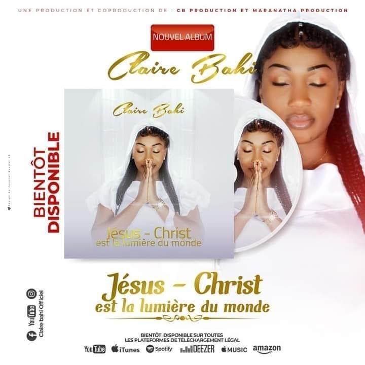 Claire Bahi : bientôt la sortie de son tout premier album en tant que chantre de l'éternel