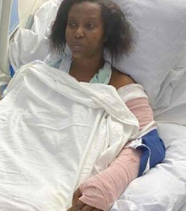 Haïti: la Première Dame partage des photos depuis son lit d'hôpital après l'attaque, et pleure son mari assassiné