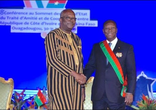 Côte d'Ivoire: le sommet ivoiro-Burkinabé débutera ce 25 Juillet à Abidjan
